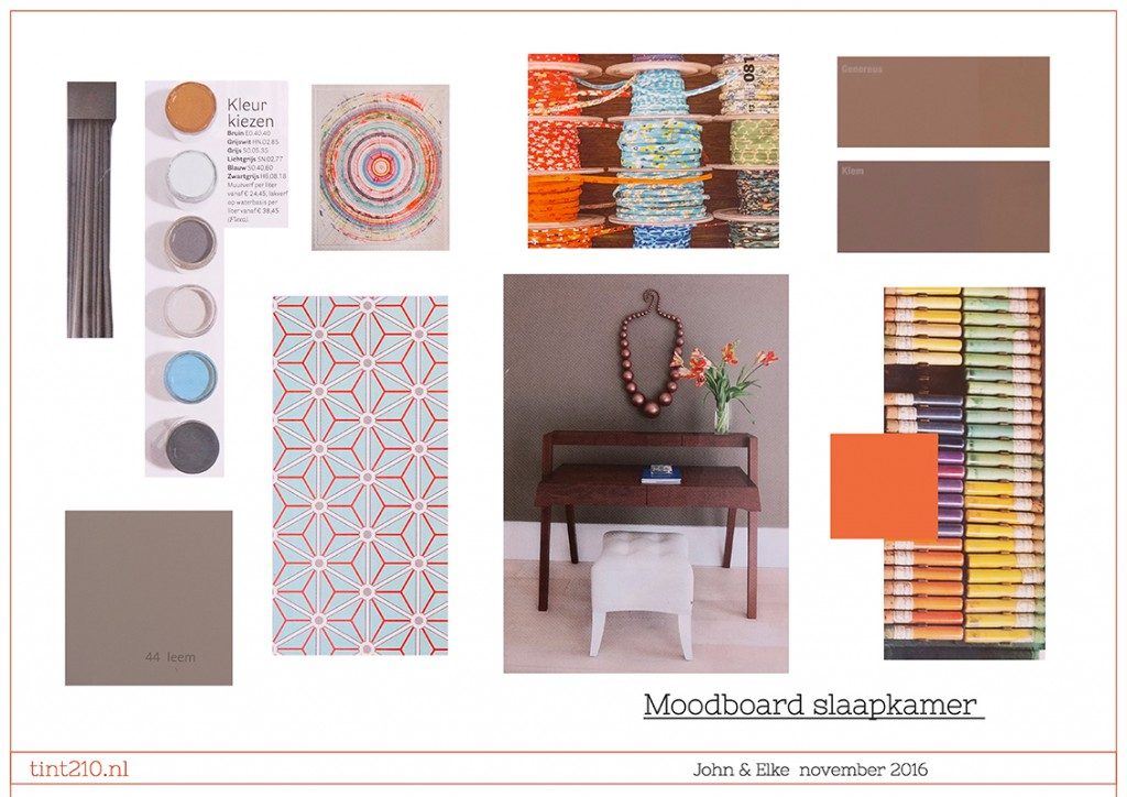 Moodboard Slaapkamer Interieur Venlo