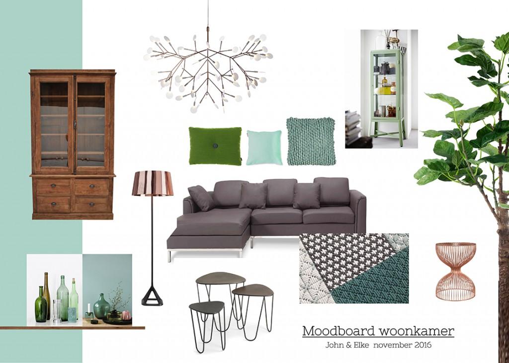 Moodboard woonkamer interieur styling venlo