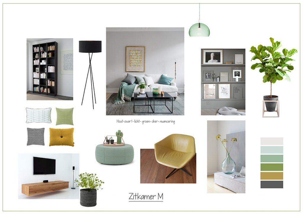 Moodboard_Zitkamer_interieur_Styling_ Venlo